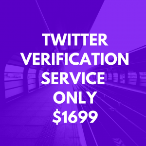 twitter verification service image