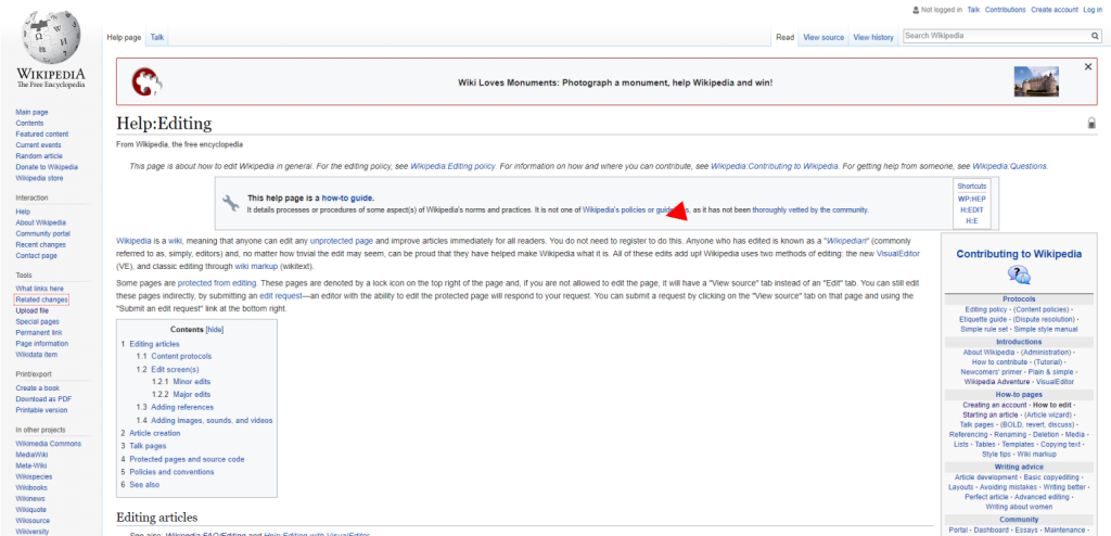 How to Edit a Wikipedia Page